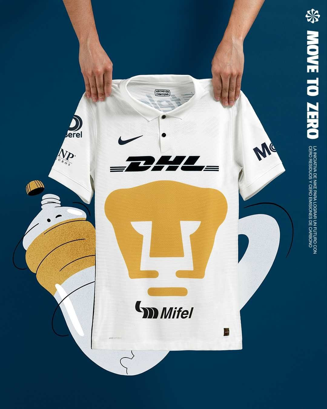 Camisas do Pumas UNAM 2021-2022 Nike