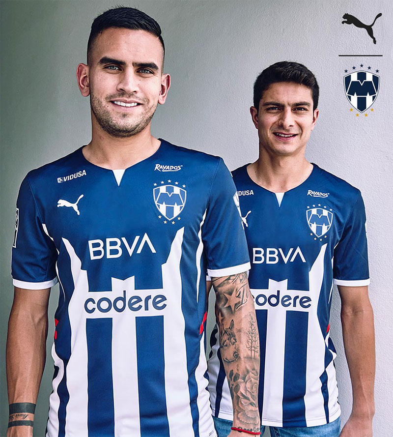 Camisas do Rayados de Monterrey 2021-2022 PUMA