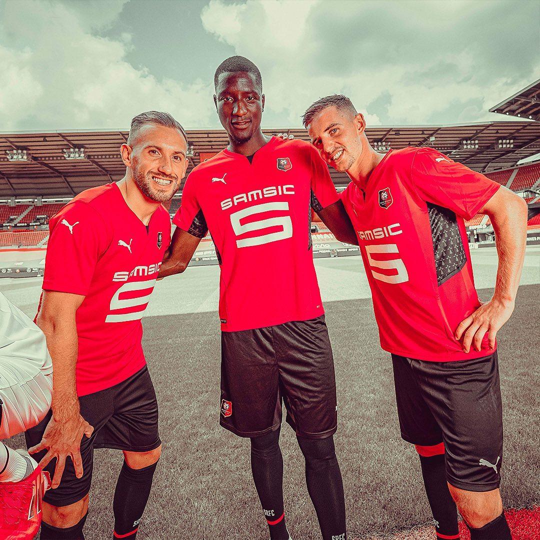 Camisas do Rennes 2021-2022 PUMA