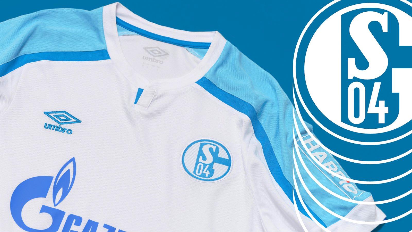 Camisas do Schalke 04 2021-2022 Umbro