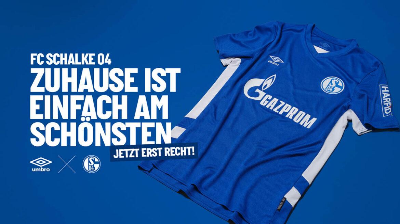 Camisas do Schalke 04 2021-2022 Umbro kit