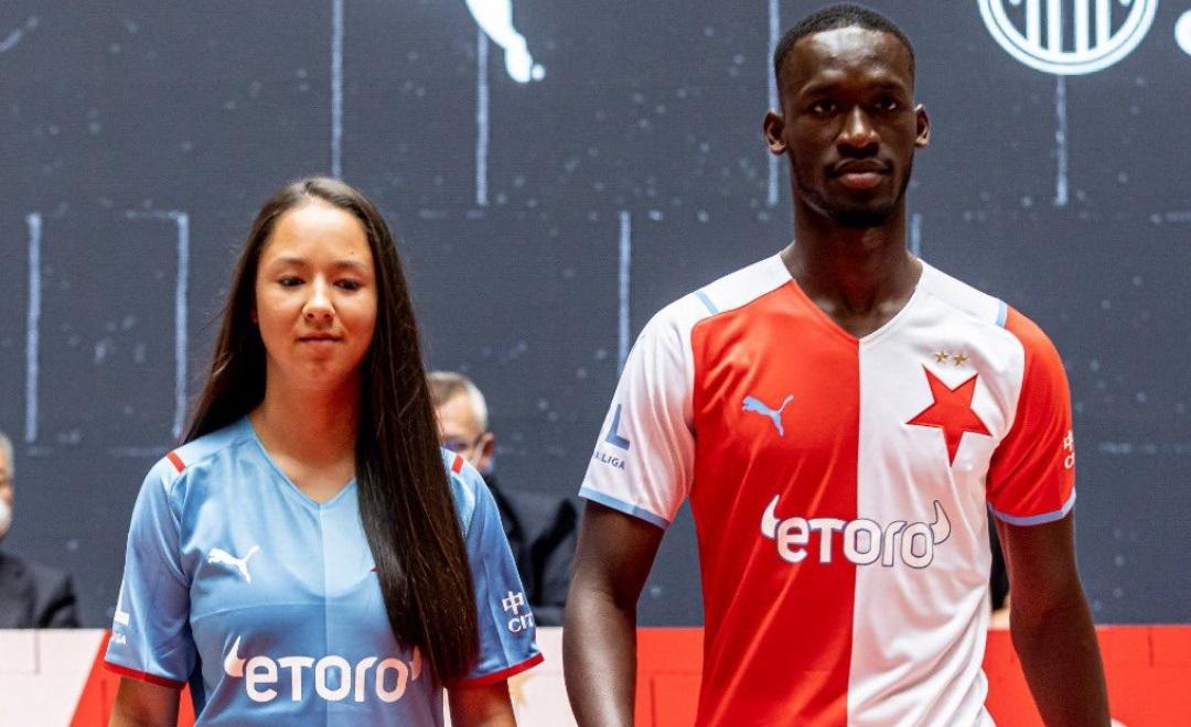 Camisas do Slavia Praga 2021-2022 PUMA