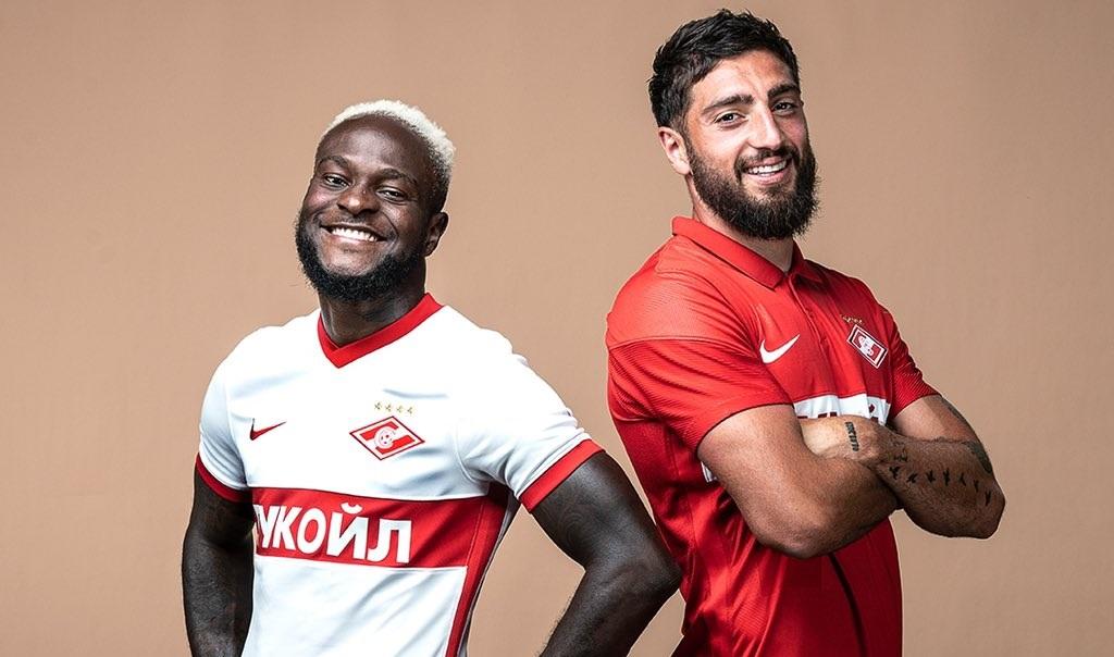 Camisas do Spartak Moscou 2021-2022 Nike