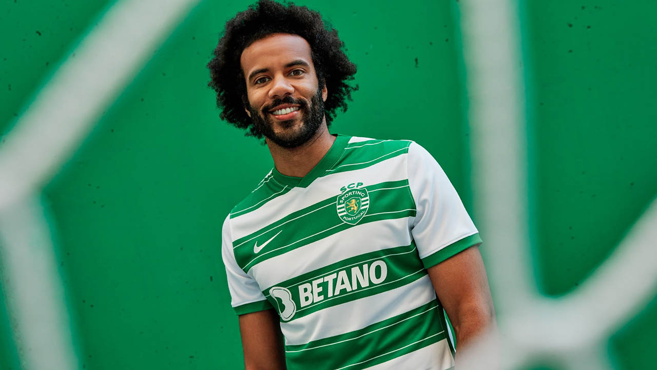 Camisas do Sporting CP 2021-2022 Nike a