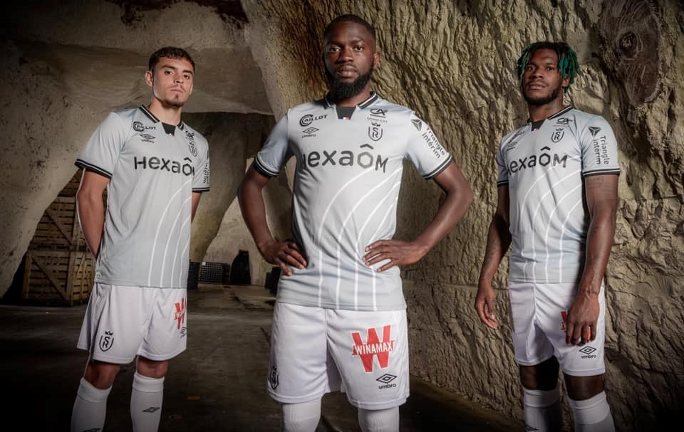 Camisas do Stade Reims 2021-2022 Umbro