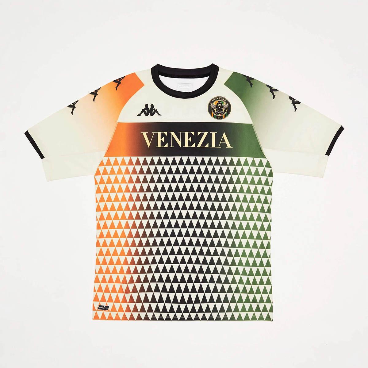 Camisas do Venezia FC 2021-2022 Kappa Away