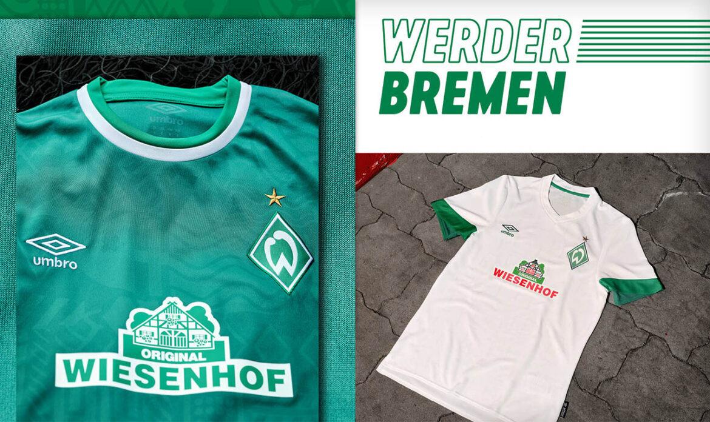 Camisas do Werder Bremen 2021-2022 Umbro a