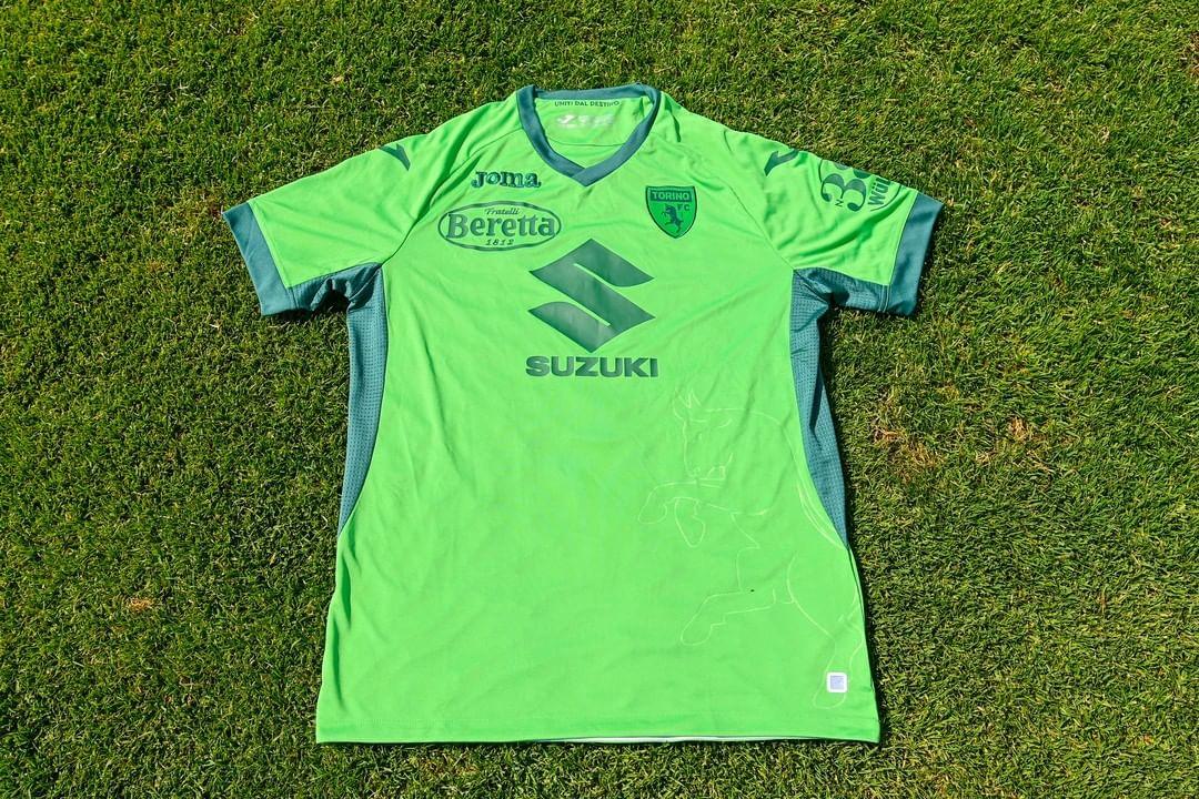 #ForçaChape Camisa de goleiro do Torino FC 2021-2022 JOMA