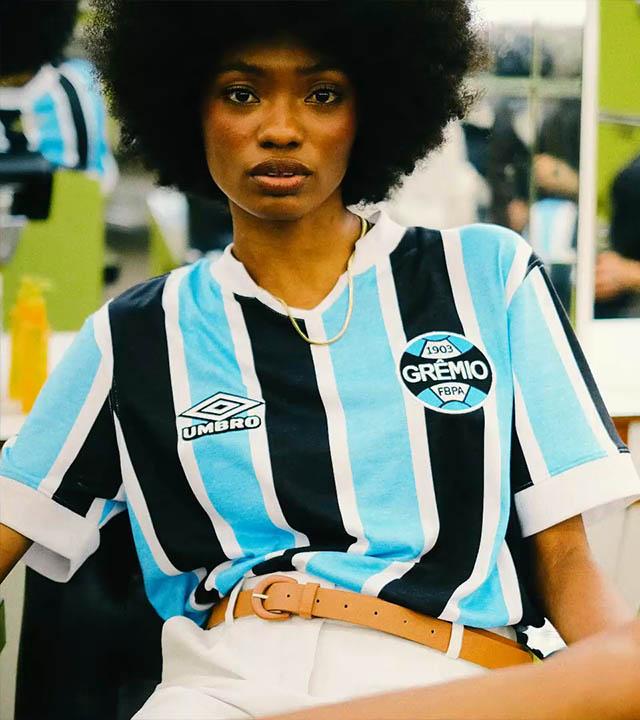 Umbro coleção retrô clubes brasileiros