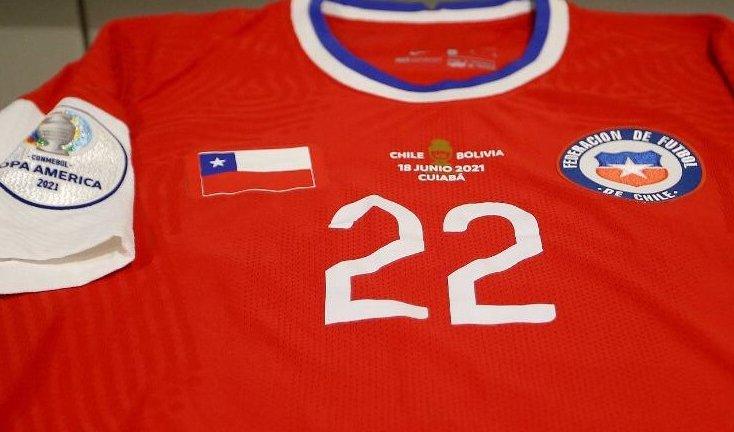 Por que o Chile está jogando com a bandeira cobrindo o logo da Nike