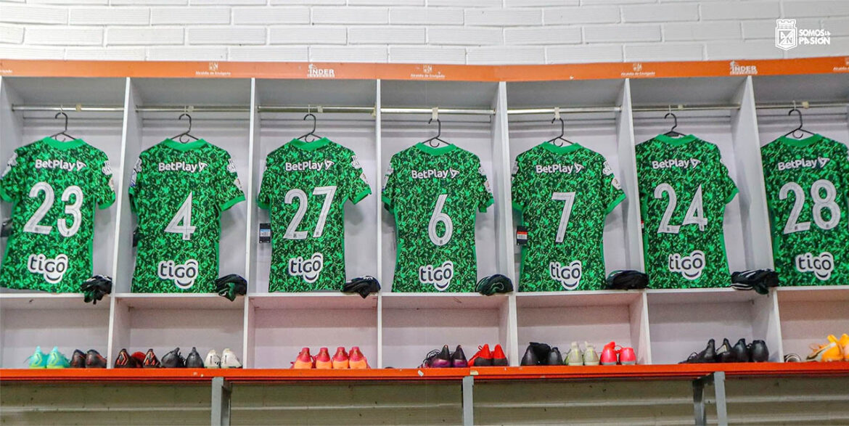 Terceira camisa do Atlético Nacional 2021-2022 Nike a