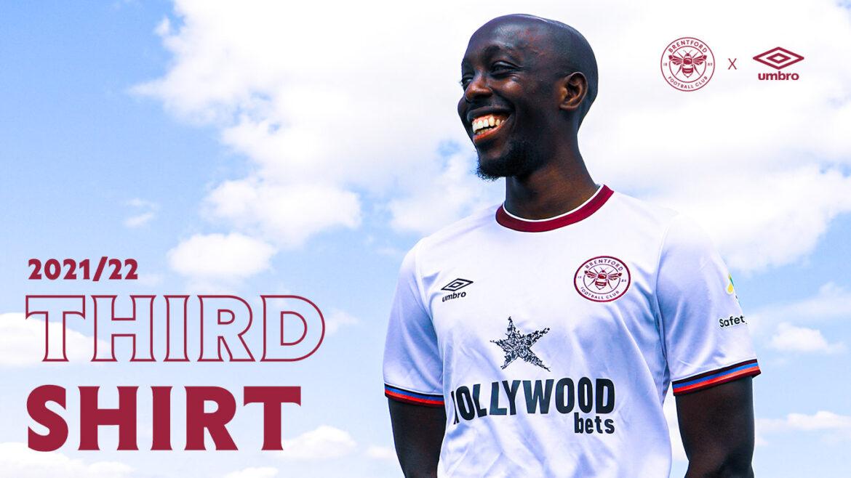 Terceira camisa do Brentford 2021-2022 Umbro a