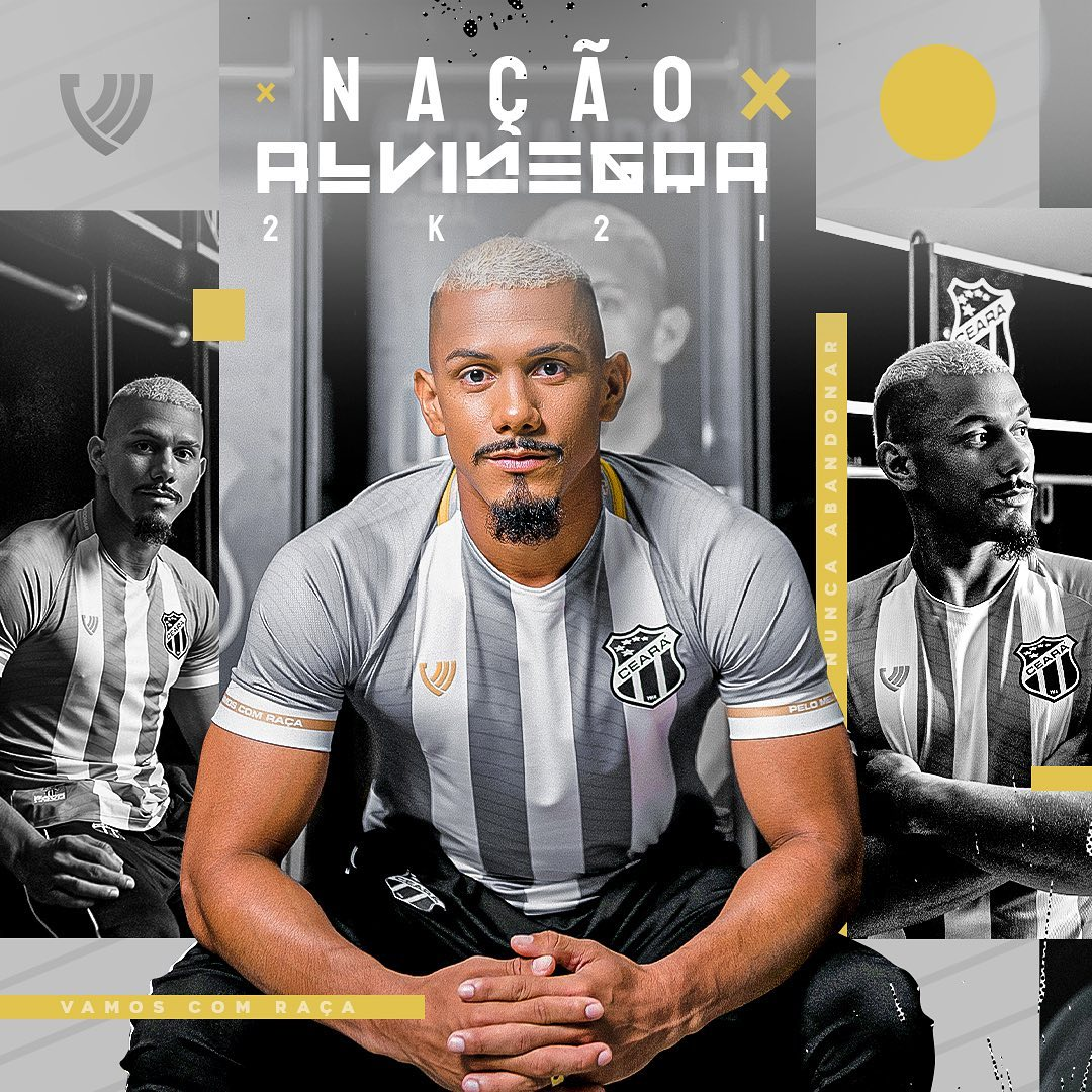 Terceira camisa do Ceará SC 2021-2022 Vozão