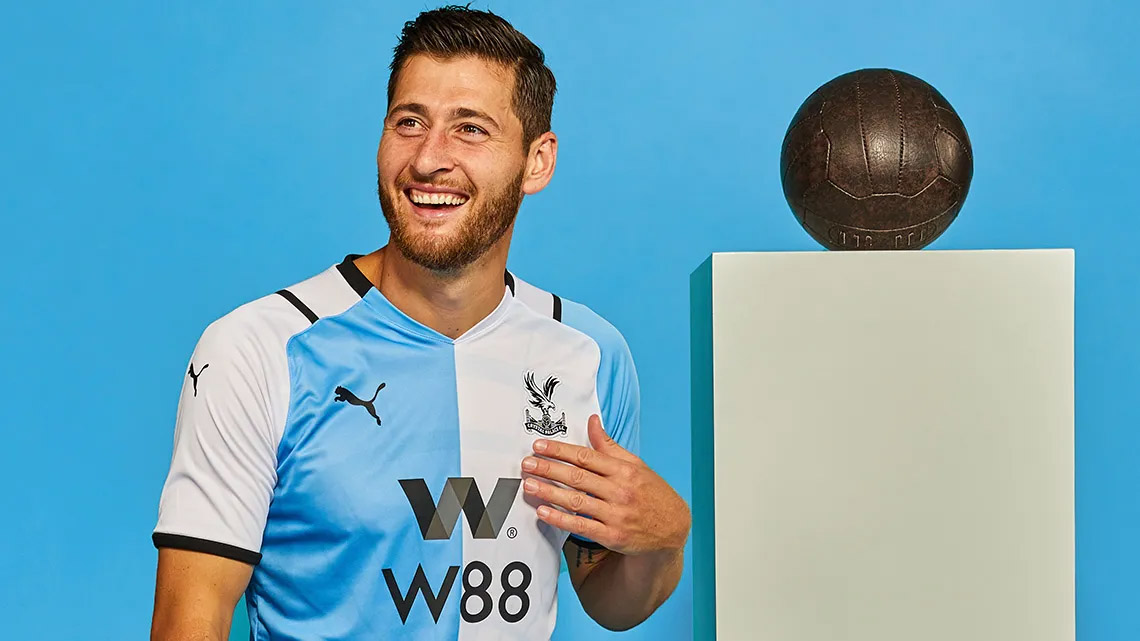 Terceira camisa do Crystal Palace 2021-2022 PUMA a