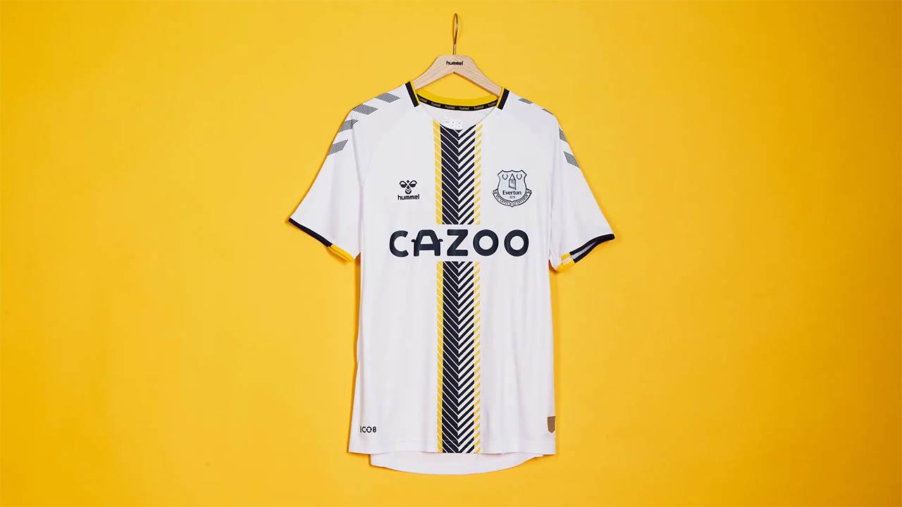 Terceira camisa do Everton FC 2021-2022 Hummel