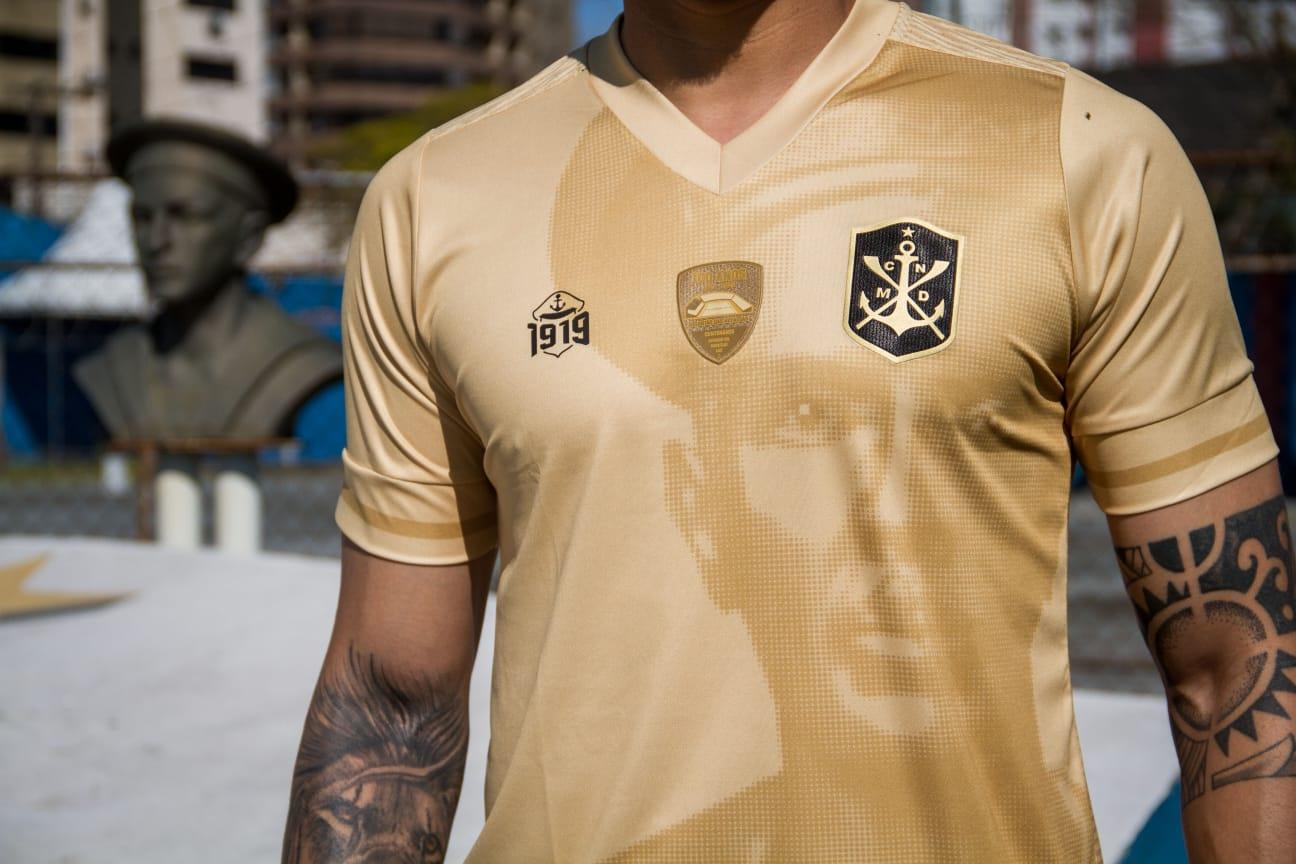 Terceira camisa do Marcilio Dias 2021-2022 1919 1