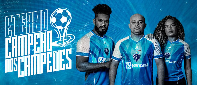Terceira camisa do Paysandu 2021-2022 Lobo a