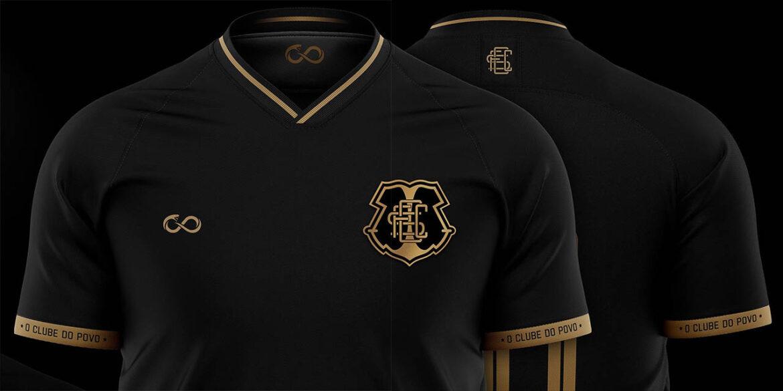 Terceira camisa do Santa Cruz FC 2021-2022 Cobracoral a