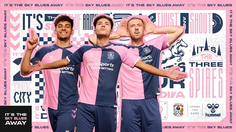 Camisas do Coventry City 2021-2022 Hummel