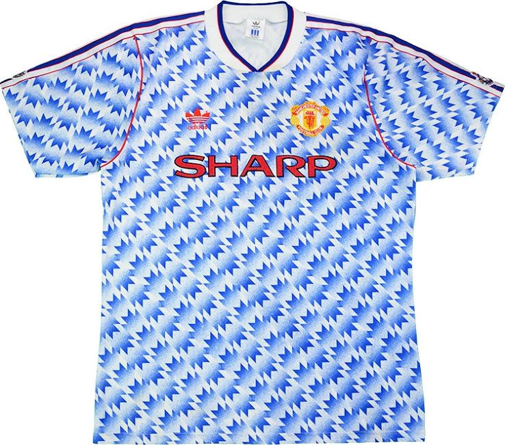 Camisa reserva do Manchester United 2021-2022 Adidas