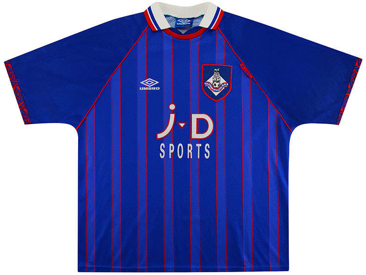 Camisa do Oldham Athletic 1993-1995 Umbro