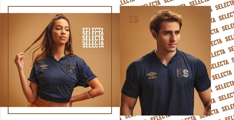 terceira camisa de El Salvador 2021-2022 Umbro a