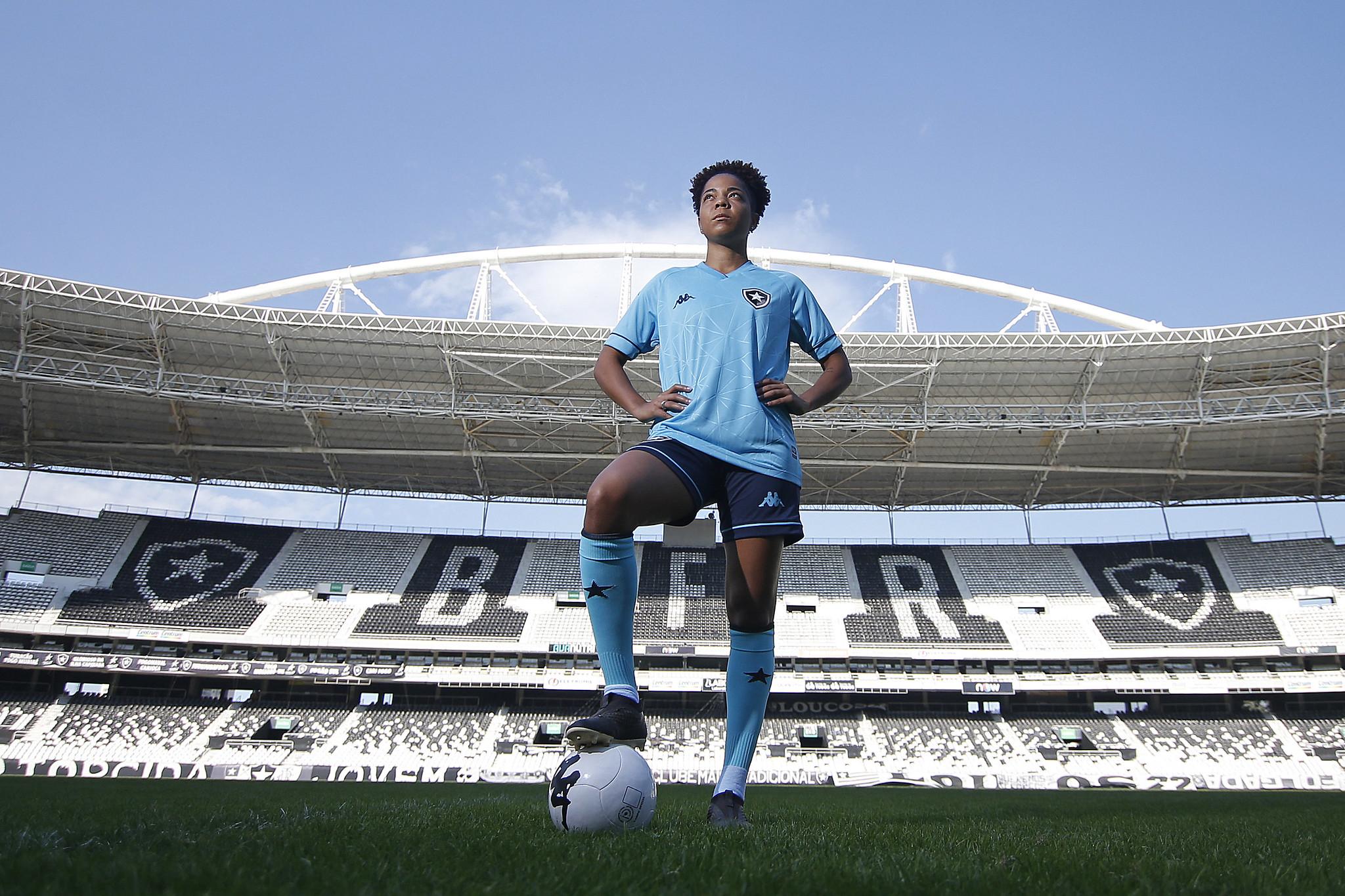 Quarta camisa do Botafogo 2021-2022 Kappa a