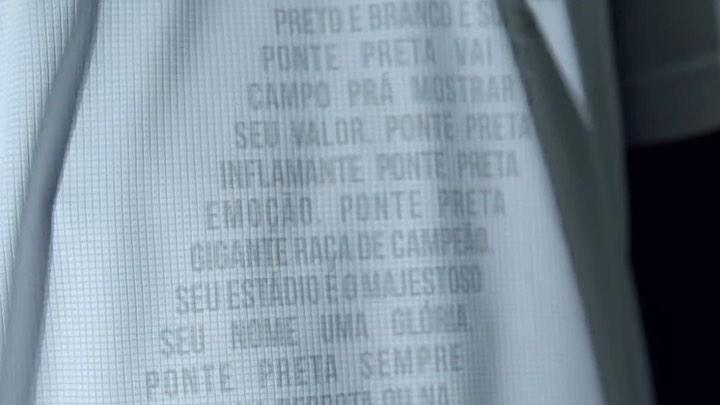 Camisa dos 121 anos da Ponte Preta 2021 1900