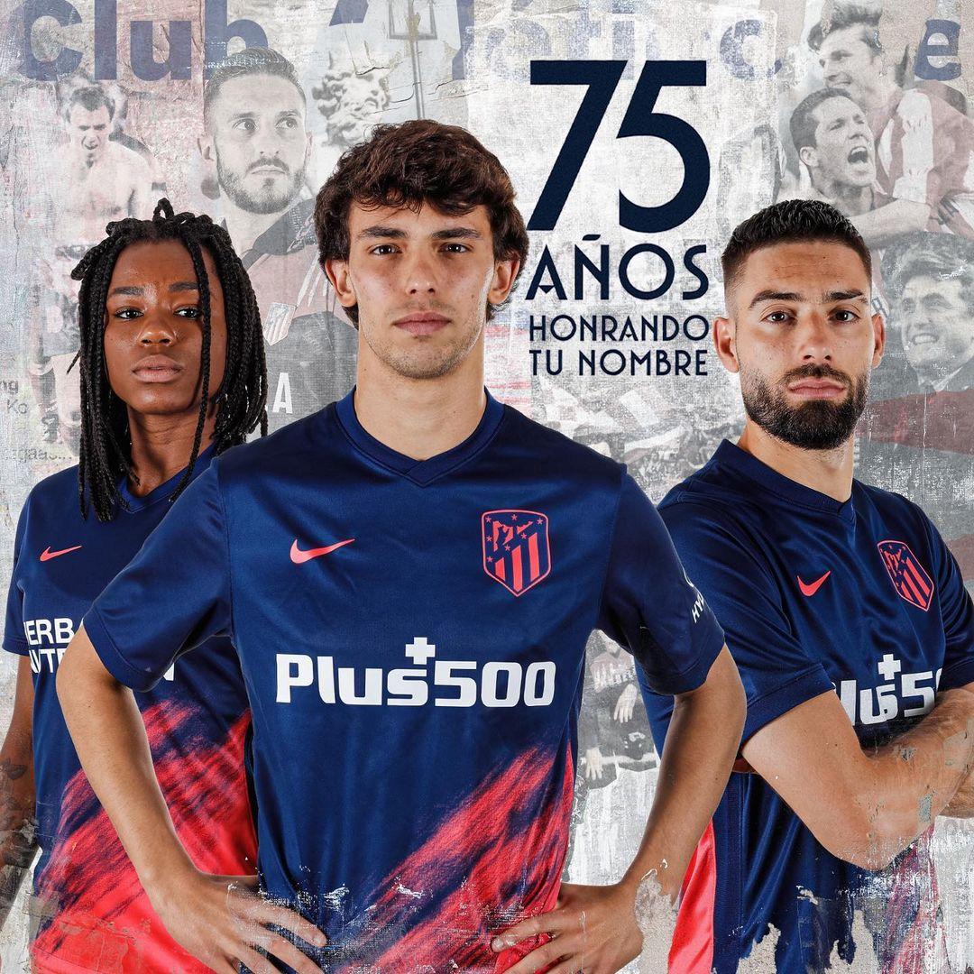 Camisa reserva do Atlético de Madrid 2021-2022 Nike