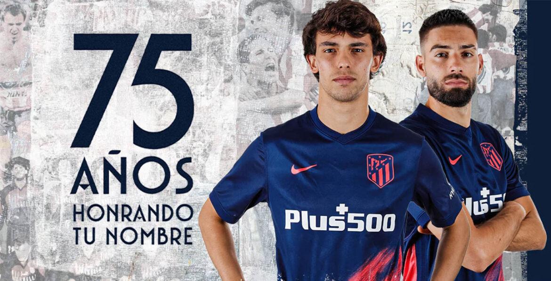 Camisa reserva do Atlético de Madrid 2021-2022 Nike a