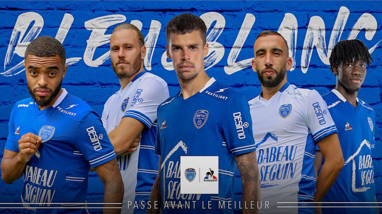 Camisas ESTAC Troyes 2021-2022 Le Coq Sportif