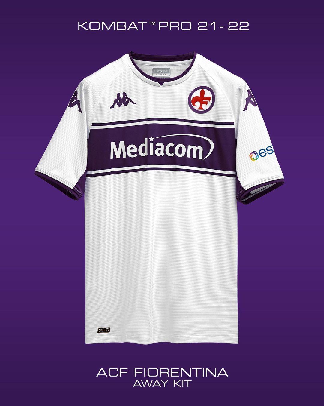 Camisas da Fiorentina 2021-2022 Kappa kit 2