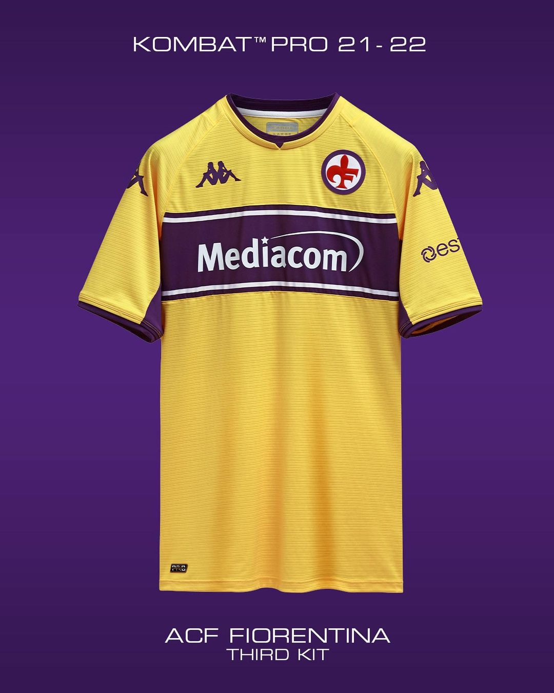 Camisas da Fiorentina 2021-2022 Kappa