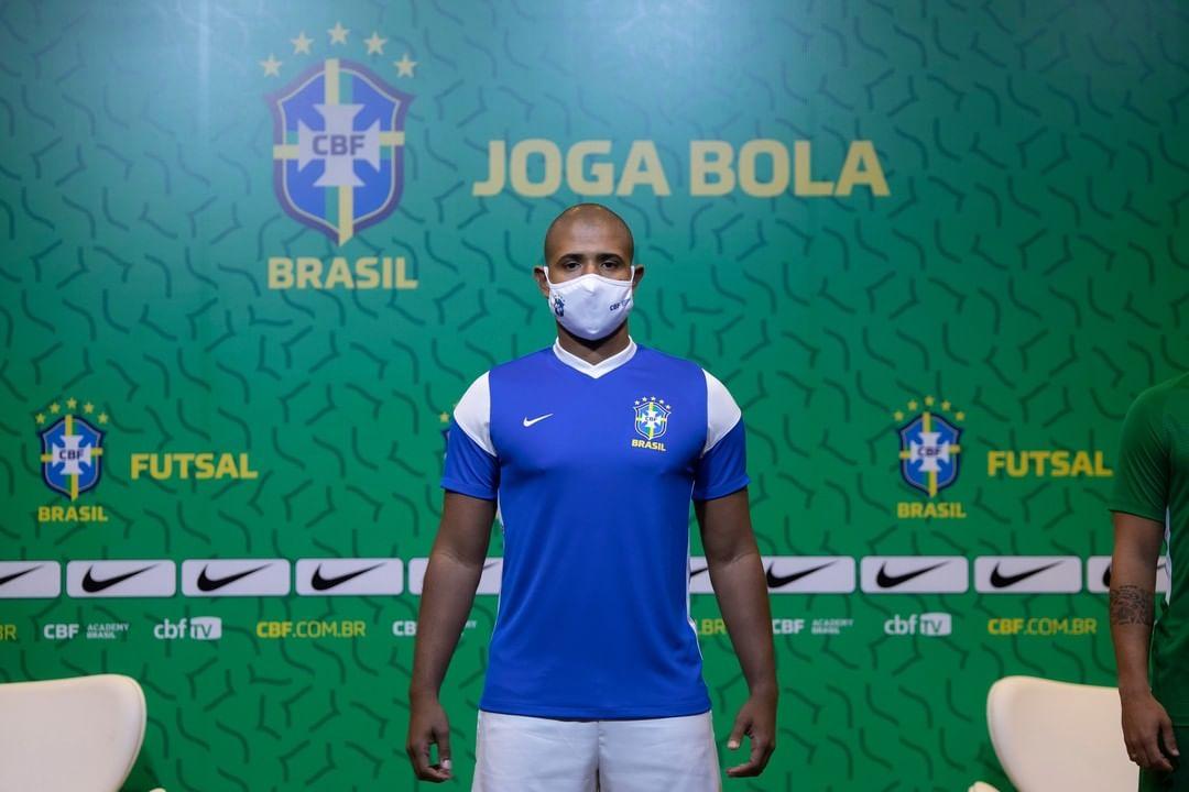 Camisas da Seleção Brasileira de Futsal 2021-2022 Nike
