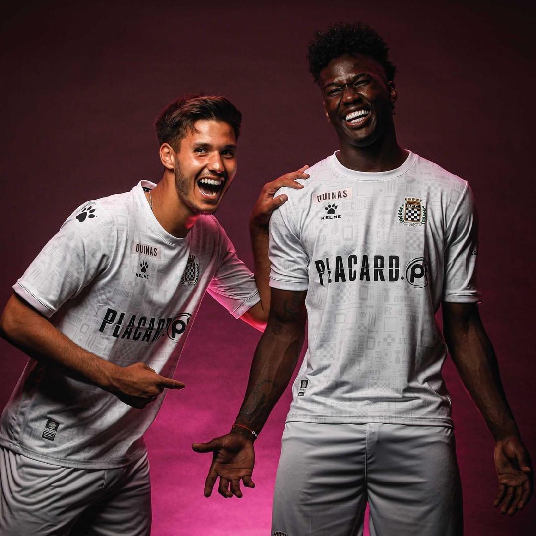 Camisas do Boavista 2021-2022 Kelme