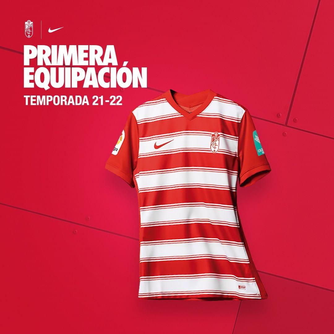 Camisas do Granada CF 2021-2022 Nike