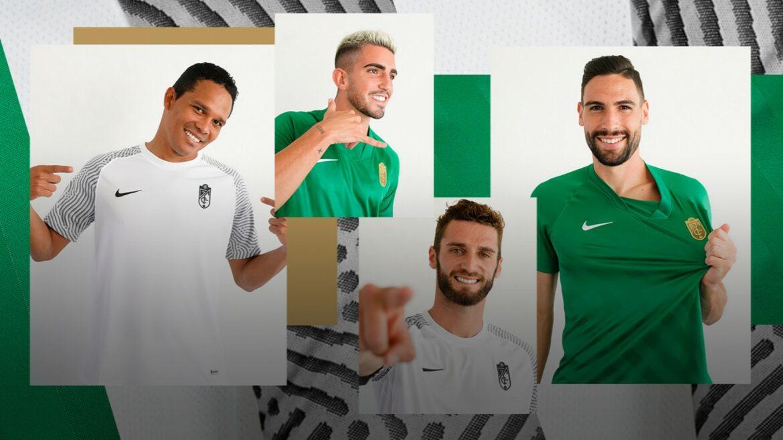 Camisas do Granada CF 2021-2022 Nike a