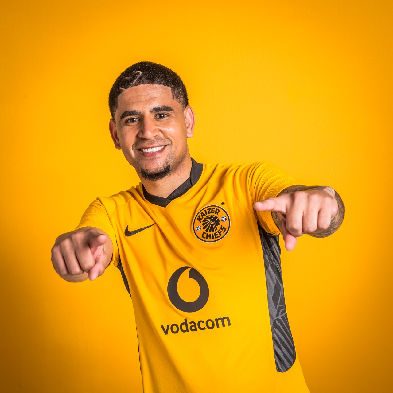 Camisas do Kaizer Chiefs 2021-2022 Nike