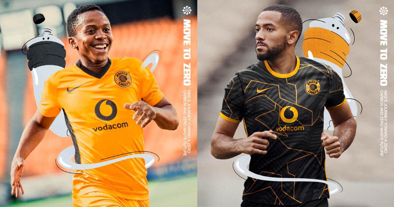 Camisas do Kaizer Chiefs 2021-2022 Nike a