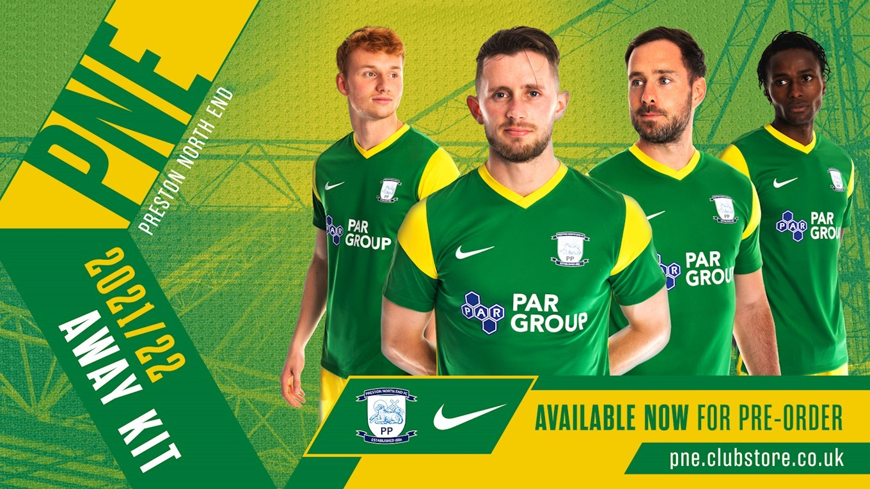 Camisas do Preston North End 2021-2022 Nike Away
