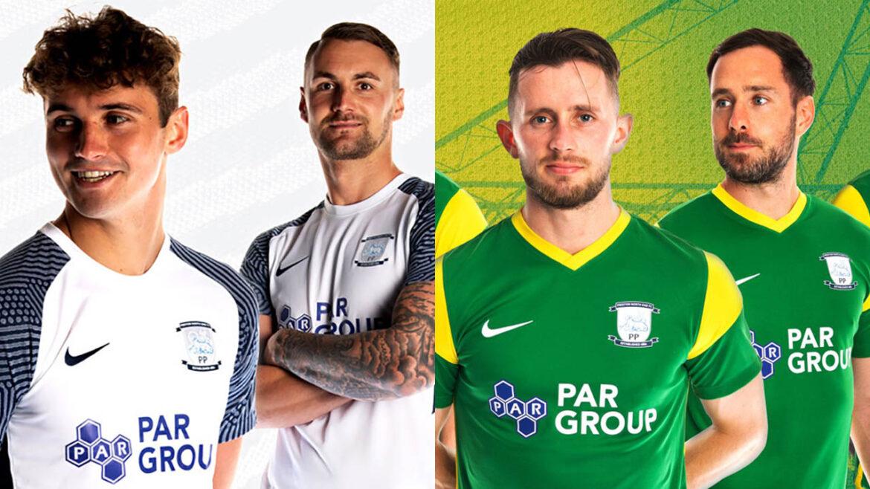 Camisas do Preston North End 2021-2022 Nike a