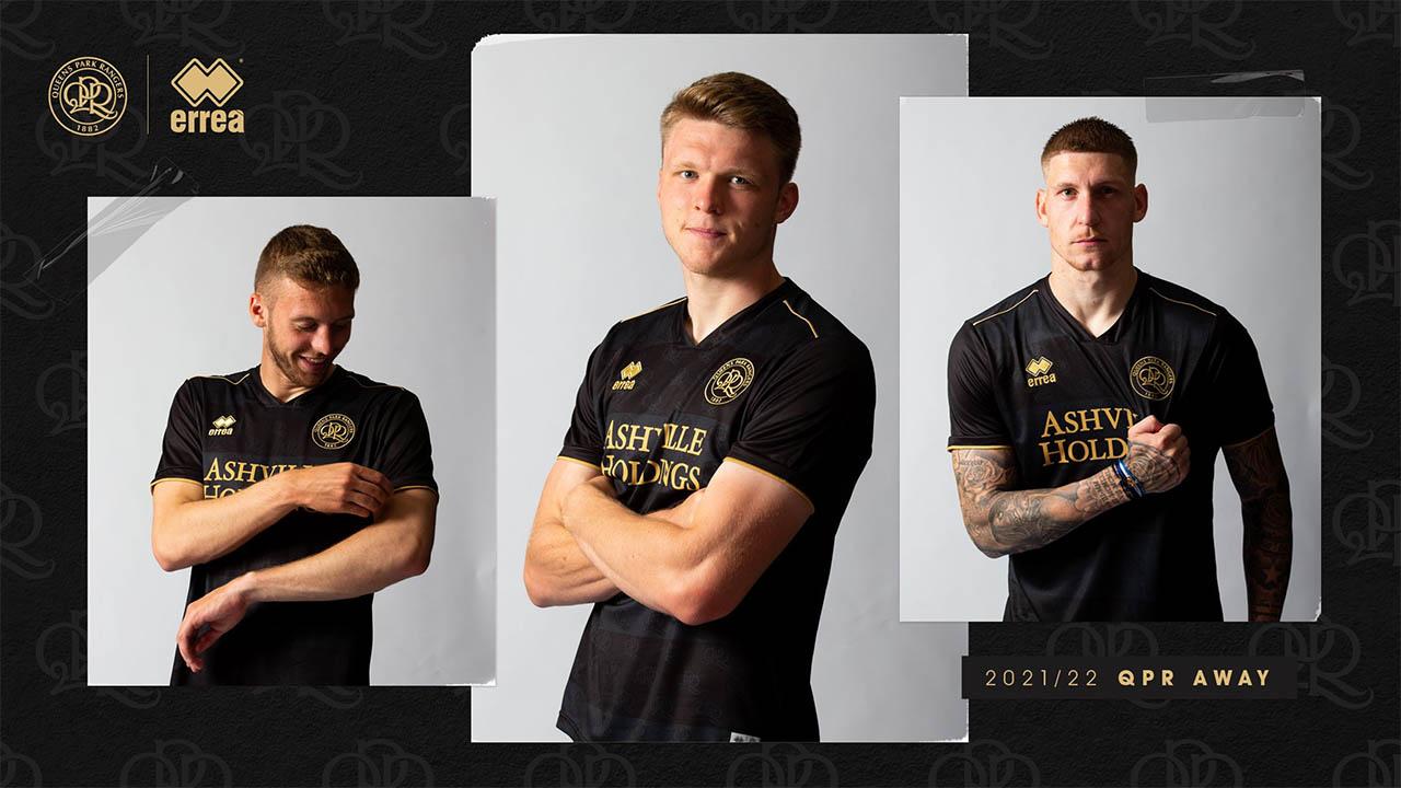 Camisas do QPR 2021-2022 Erreà Away