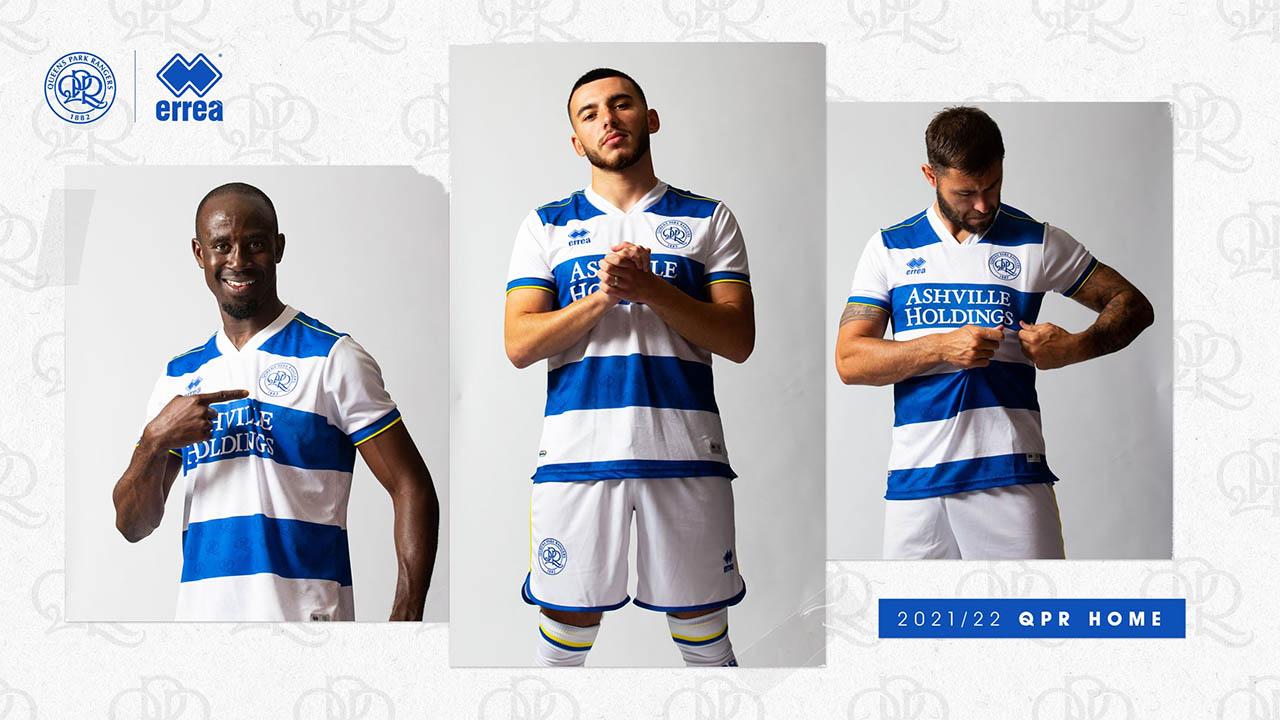 Camisas do QPR 2021-2022 Erreà Home