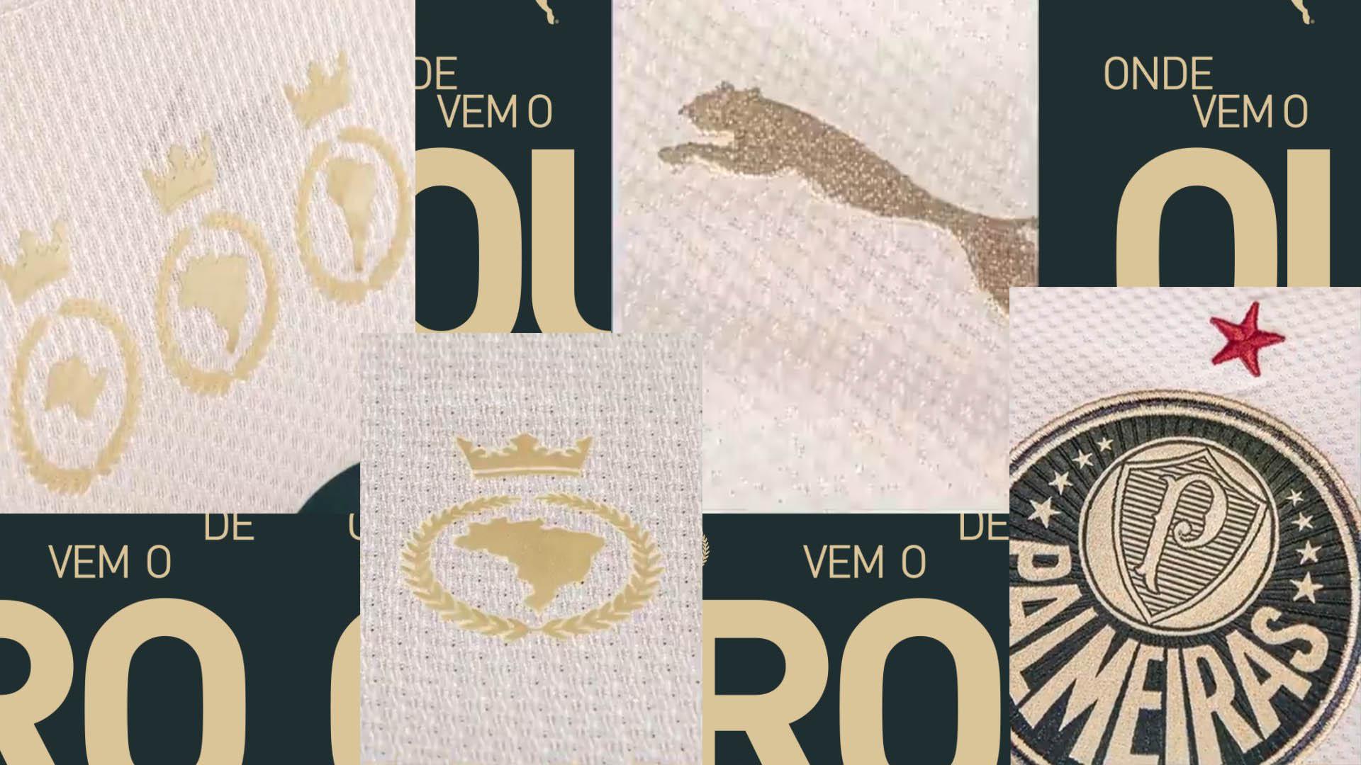 DeOndeVemoOuro PUMA terceira camisa do Palmeiras 2021-2022 a