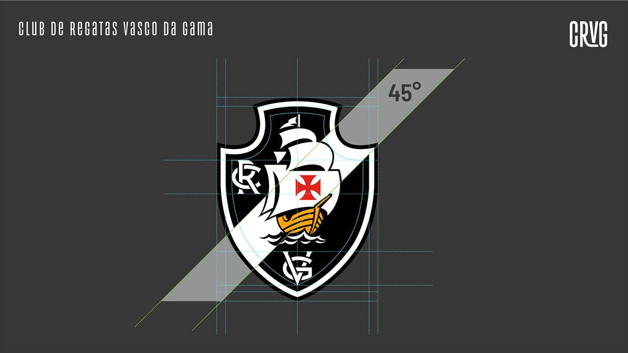 Novo escudo Vasco da Gama 2021