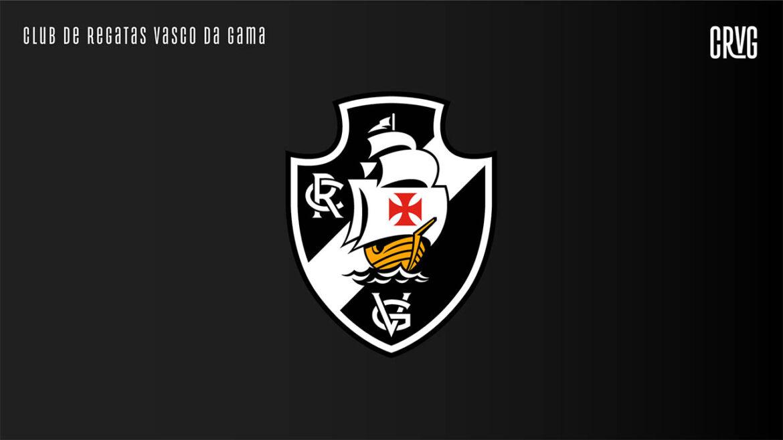 Novo escudo Vasco da Gama 2021 preto