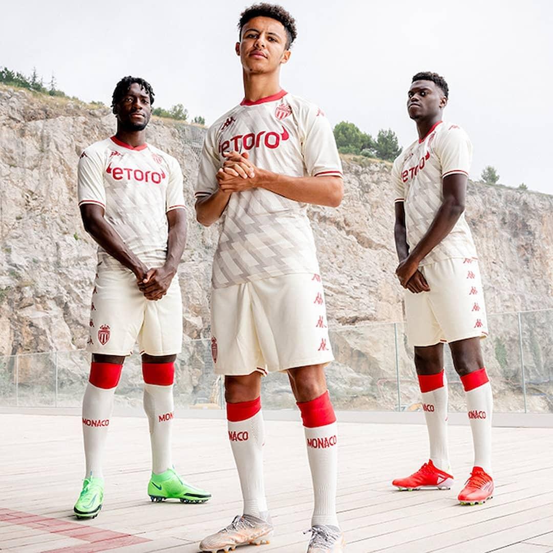 Terceira camisa do AS Monaco 2021-2022 Kappa