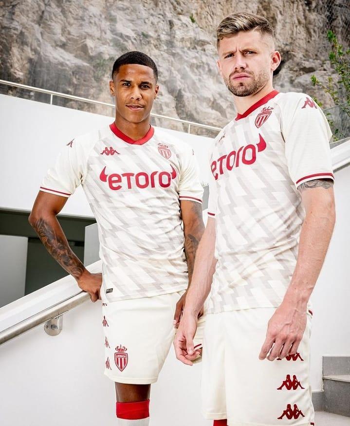 Terceira camisa do AS Monaco 2021-2022 Kappa 2