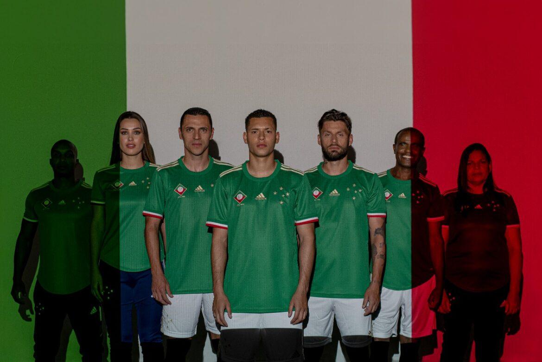 Terceira camisa do Cruzeiro 2021-2022 Adidas a