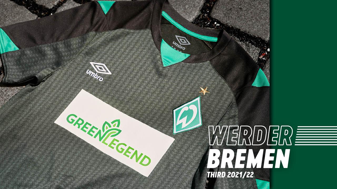 Terceira camisa do Werder Bremen 2021-2022 Umbro